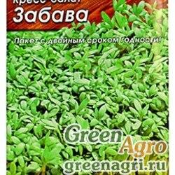 """Семена пакетированные Кресс-салат Забава 1г """"Лидер"""" Аэлита Ц"""