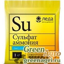 Сульфат аммония  1 кг  Леда  х30/1200
