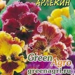 Виола Арлекин махр.смесь ЦветСад Ц