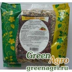 Смесь сидератов для улучшения почвы 3 кг Зеленый уголок