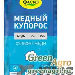Медный купорос (пакет) 100гр.ФАСКО х50