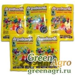 АГРИКОЛА гидрогель шарики 20гр зеленый 04-0425 х50