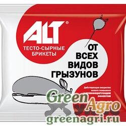 АЛТ От крыс брикет тесто-сырный 160г  х35