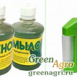 Зеленое мыло(калийное) 0,9л 01-686 х12