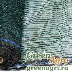 Сетка для притенения 4*50м 50% зеленая