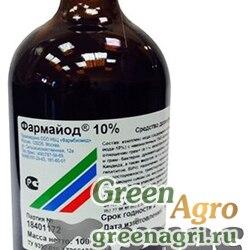 Фармайод 10% 85мл. дезинфектант (100 гр)