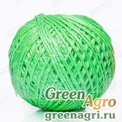 Шпагат полипропиленовый зеленый 200м (клубок) х30
