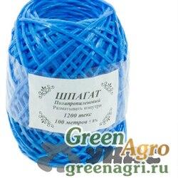 Шпагат полипропиленовый синий 100м 1200текс х50