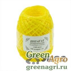 Шпагат полипропиленовый желтый 100м 1200текс х50