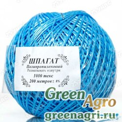Шпагат полипропиленовый синий 200м (клубок) х30