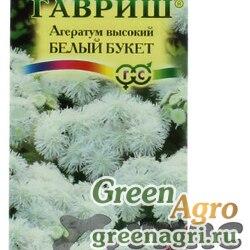 Агератум Белый букет (Сад ароматов) Гавриш Ц