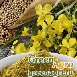 Сидераты Жмых горчичный 5 кг Зеленый уголок