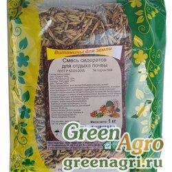 Смесь сидератов для отдыха почвы 5 кг Зеленый уголок