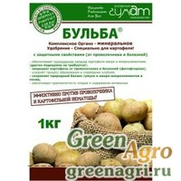 Органо-минеральное удобрение для картофеля «Бульба» 1 кг. (Агротех Гумат)